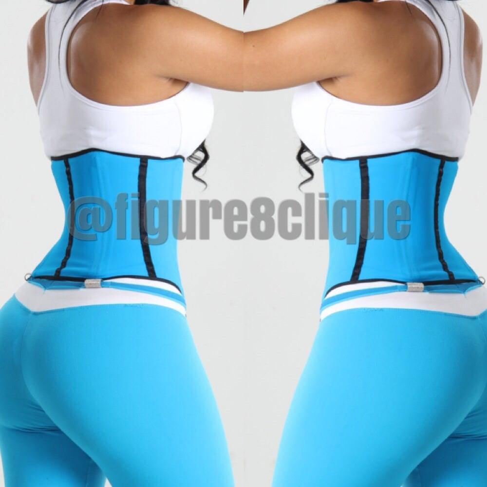 Image of Aqua Blue Sport Corset ...