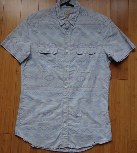 Image of BURTON - SHORT SLEEVE BUTTON UP - AZTEC PRINT