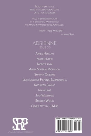 Image of Adrienne Issue 03: A Poetry Journal of Queer Women