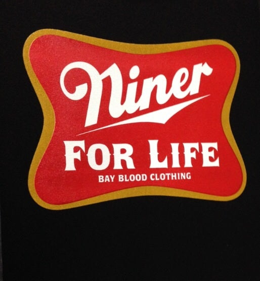 Image of NINER FOR LIFE (black)