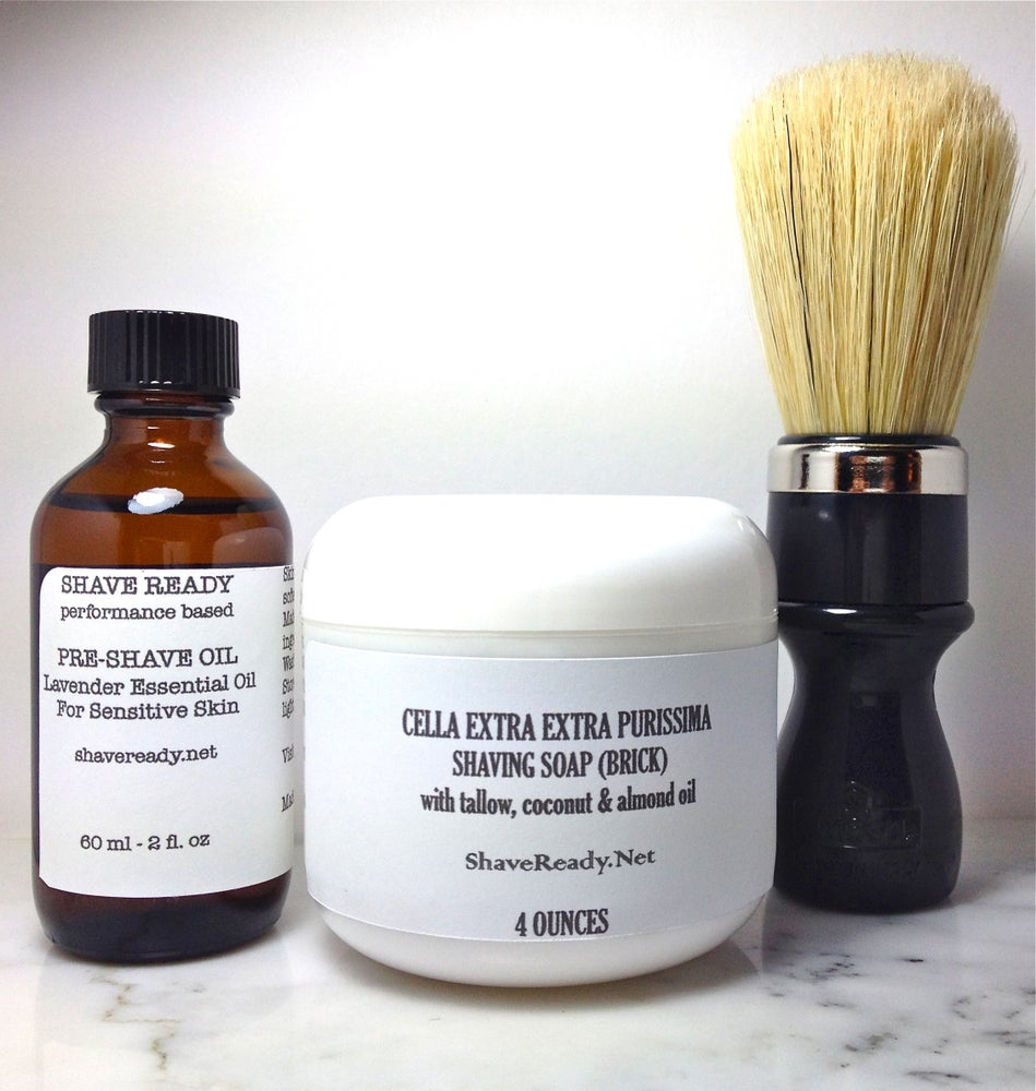 Image of Traditional Shaving Prep Set