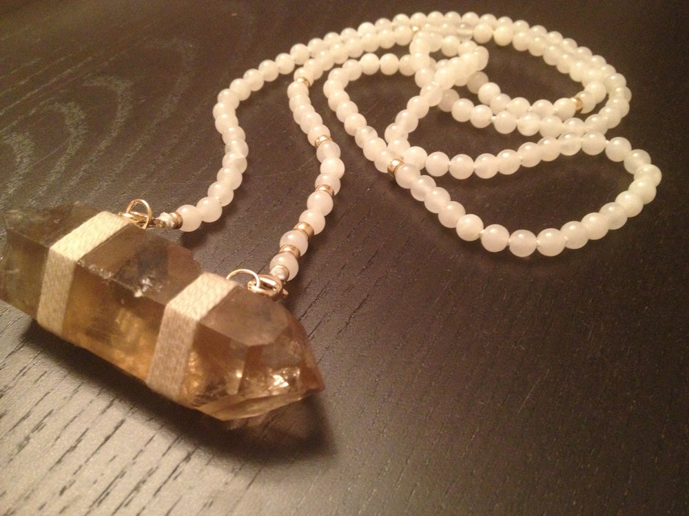 Image of Long & Lean Infinity with Citrine