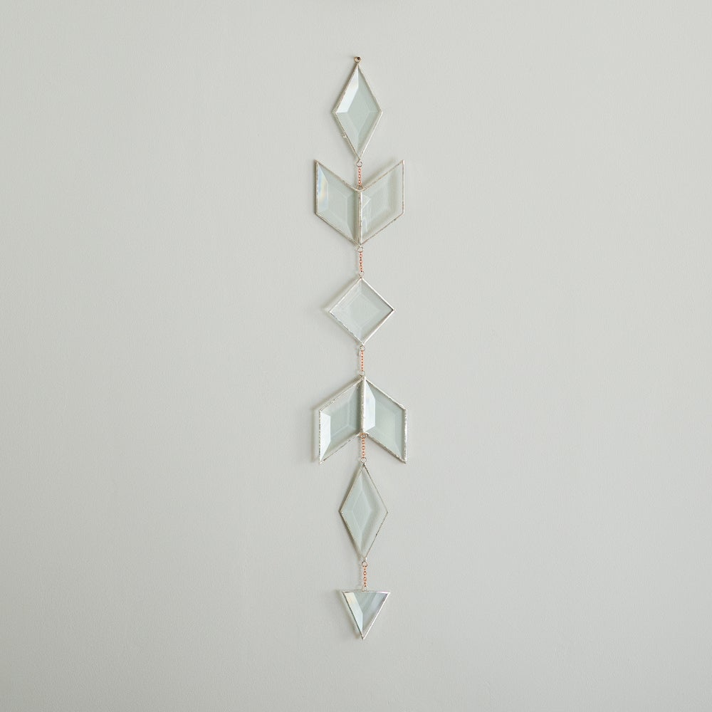 Image of Prism Suncatcher, small and large