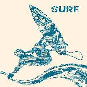 Image of Surf Anatomy Art Print