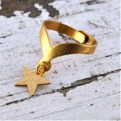 Image of Astron - Brass Star Ring