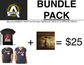 Image of REDISCOVER BUNDLE PACK (SHIRT + ALBUM)