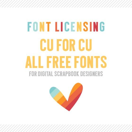 Image of Digital Scrapbook Designers :: CU4CU All Fonts