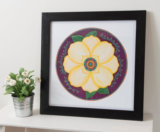 """Image of """"Support and honour""""- Magnolia Archival Paper Print (unframed)"""