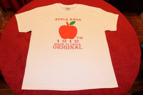 Image of Apple Bag Tee - White