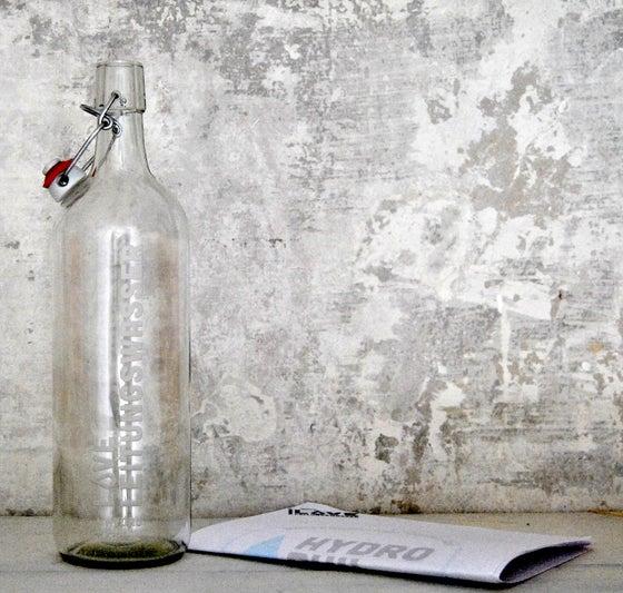 Image of Bügelflasche - LOVE Leitungswasser