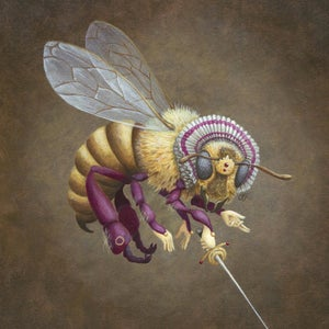 Image of Queen Bee 5x7 giclee print