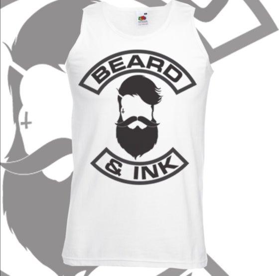 Image of Beard & Ink Front Logo Vest
