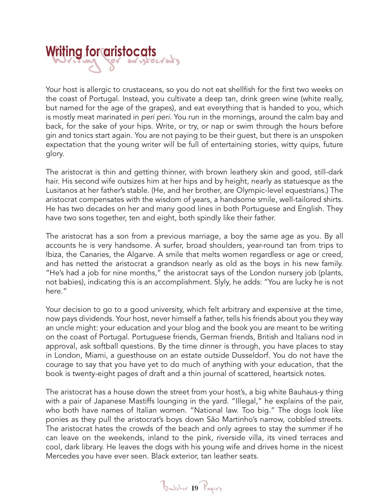 Example of Respect Essay for Oneself