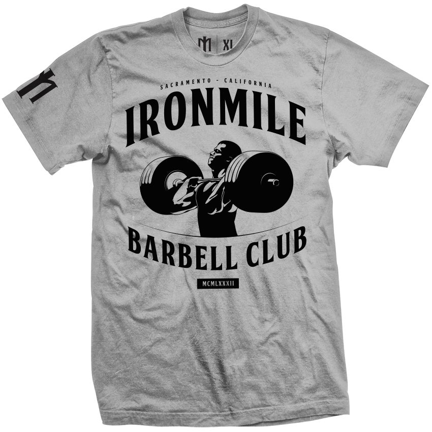 Image of M - BARBELL CLUB