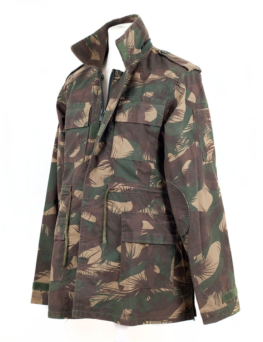 Denizen Report Shop Indian Army Surplus Camo Jacket Uttarakhand