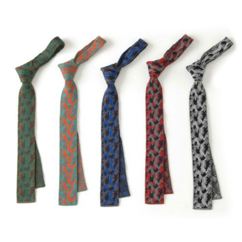 Image of Camouflage Tie in Classic Green Mix
