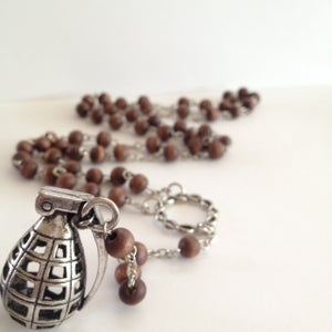 Image of Grenade Rosary (unisex)