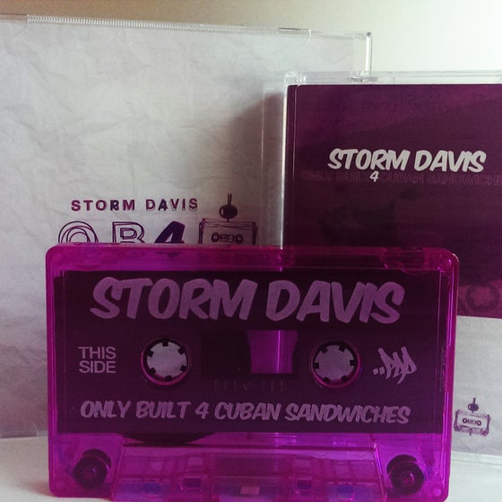 Image of Storm Davis - Only Built 4 Cuban Sandwiches CD+CASSETTE 2PACK