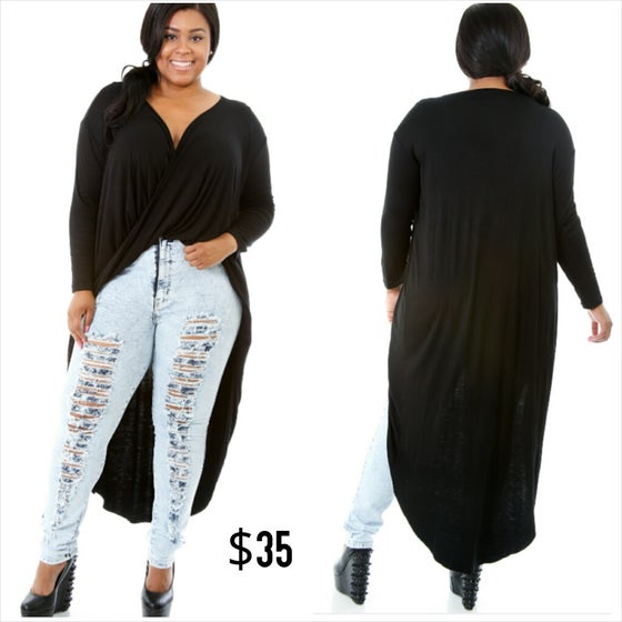 Image of Crossover Long Maxi Top