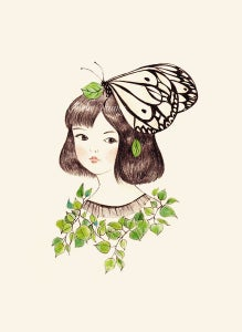Image of Butterfly Lady