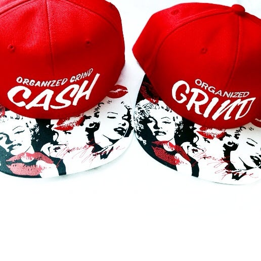 Image of  Classic Organized Grind - Marilyn Monroe Snapback