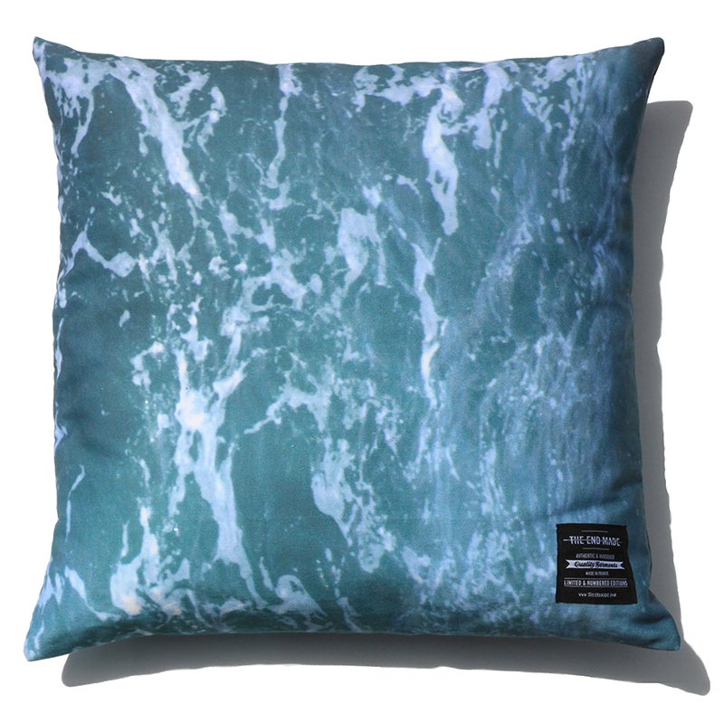 Image of MARBLE WATER PILLOW