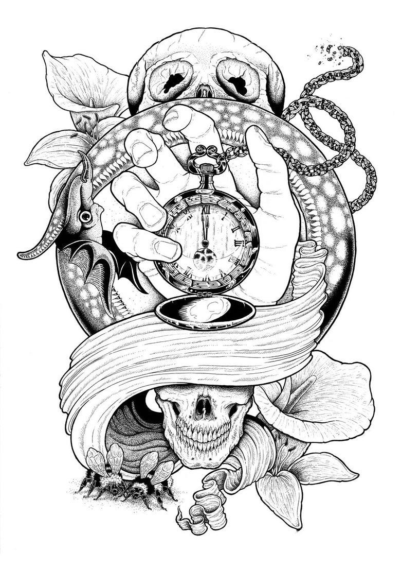 Image of Momenta - Giclée Poster