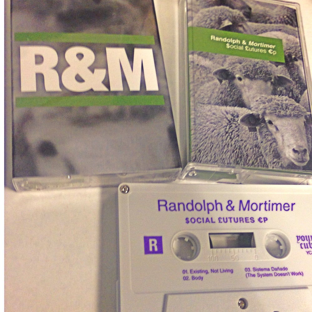 "Image of RANDOLPH & MORTIMER ""$ocial £utures €p"" YC10"