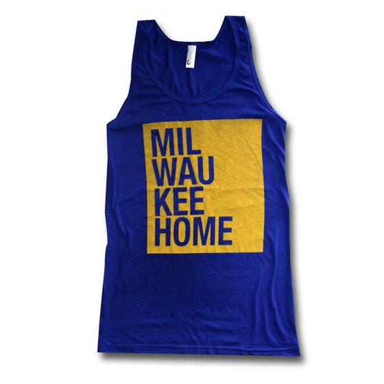 Image of Blue & GOLD TANK TOP