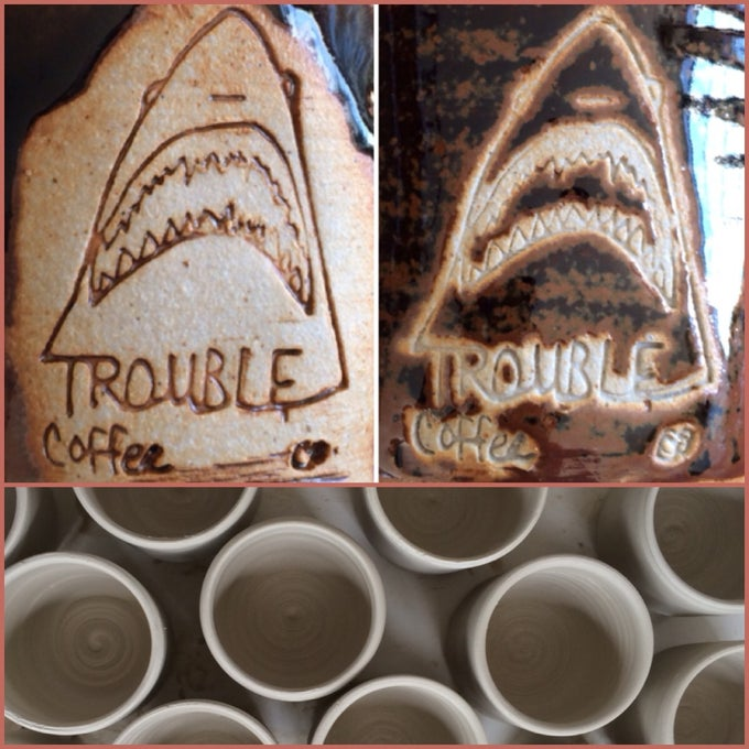 Image of Exclusive: Trouble Coffee Company Mug