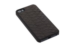 Image of Matte Black Python Belly - iPhone 5/5s