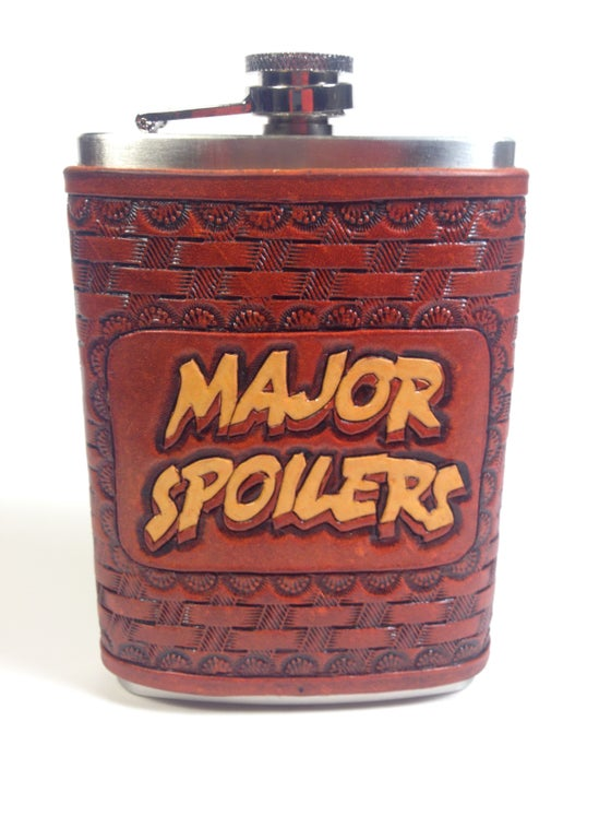 Image of Major Spoilers Flask (color)