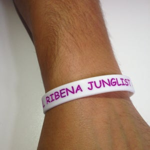 Image of Ltd Edition #RCFF Official Ribena Junglist Debossed Wristbands ***FREE UK POSTAGE***