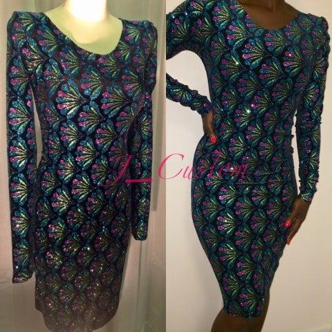 Image of Glitz snd Glam Glitter Dress