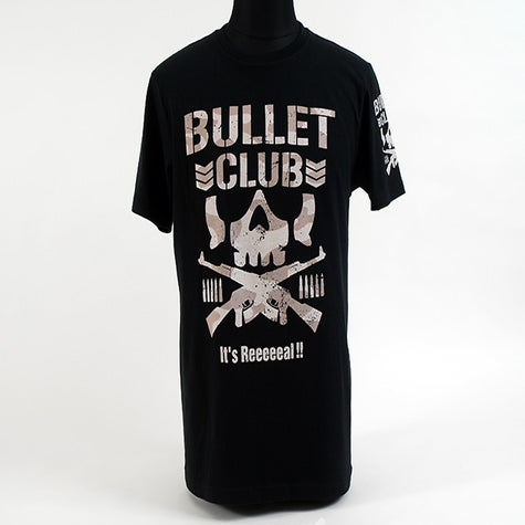 Njpw europe bullet club 39 it 39 s reeeeeal 39 t shirt for T shirts for clubs
