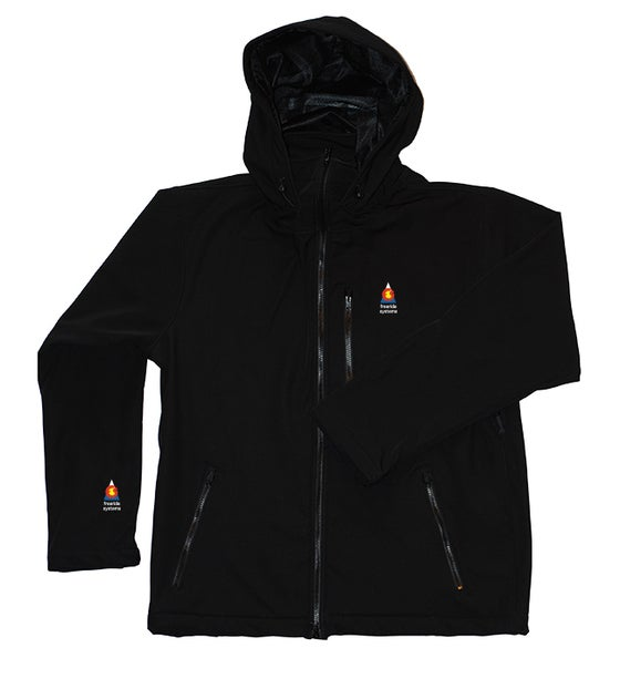 Image of Antero II Jacket Black Polartec Made in Colorado