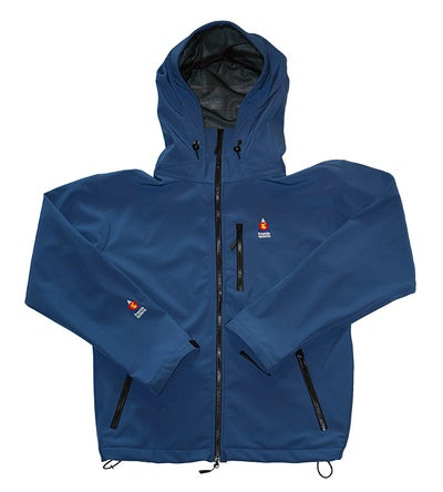 Image of Antero II Jacket Ice Blue Polartec Made in Colorado