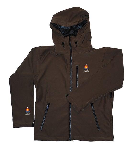 Image of Antero II Jacket Walnut Brown Polartec Made in Colorado