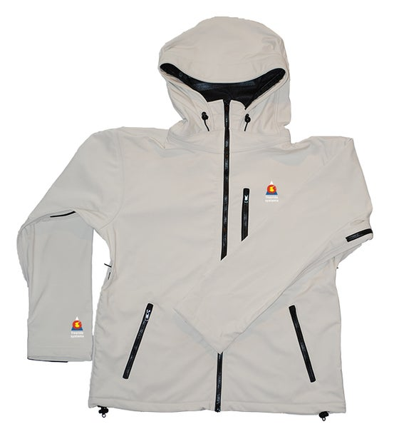 Image of Antero II Jacket Yeti White Gore Weatherstopper Made in Colorado
