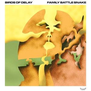 """Image of Birds of Delay / Family Battle Snake split 7"""""""