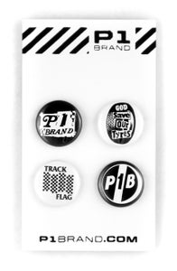 "Image of ""Punk"" Button Set, 4 (P1B-A0505)"