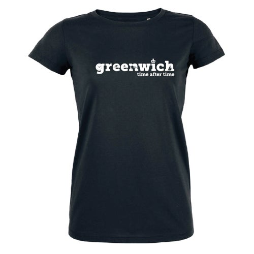 Image of Women's Black Greenwich T-Shirt