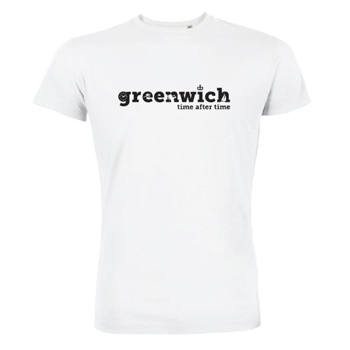 Image of Men's White Greenwich T-Shirt
