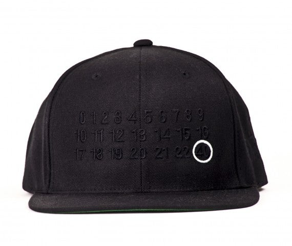 Image of 40 oz NYC - Number Snapback (Black)