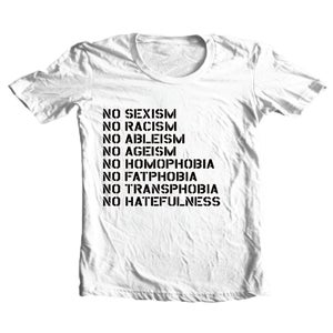 Image of No Hate (White)