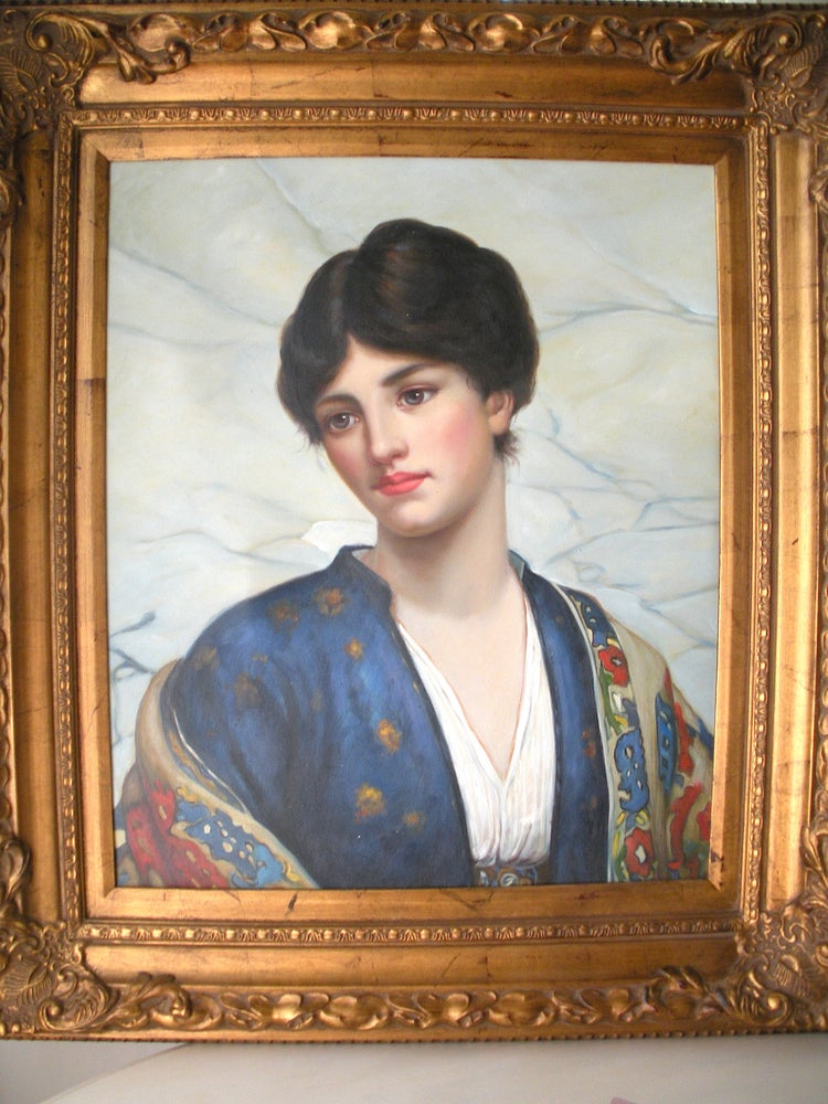 Image of Portrait Bleu