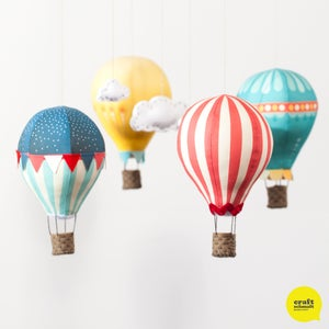 Image of Fabric Panel - Air Balloons in Circus