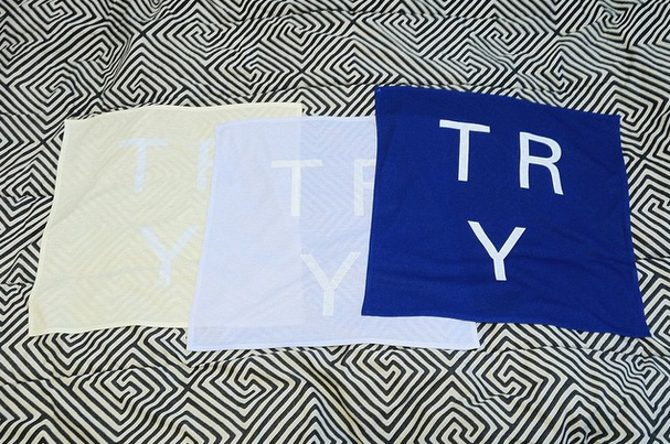 Image of Banner (Blue/Lavender/Yellow)