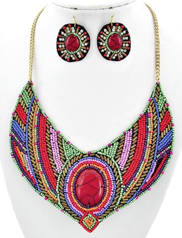 Image of Red Casanova Necklace