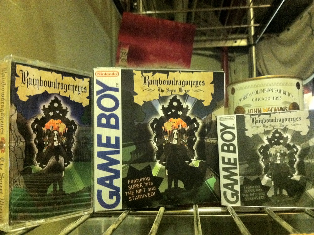 Image of Rainbowdragoneyes - The Secret Mirror (Cassette Tape in cartridge box)